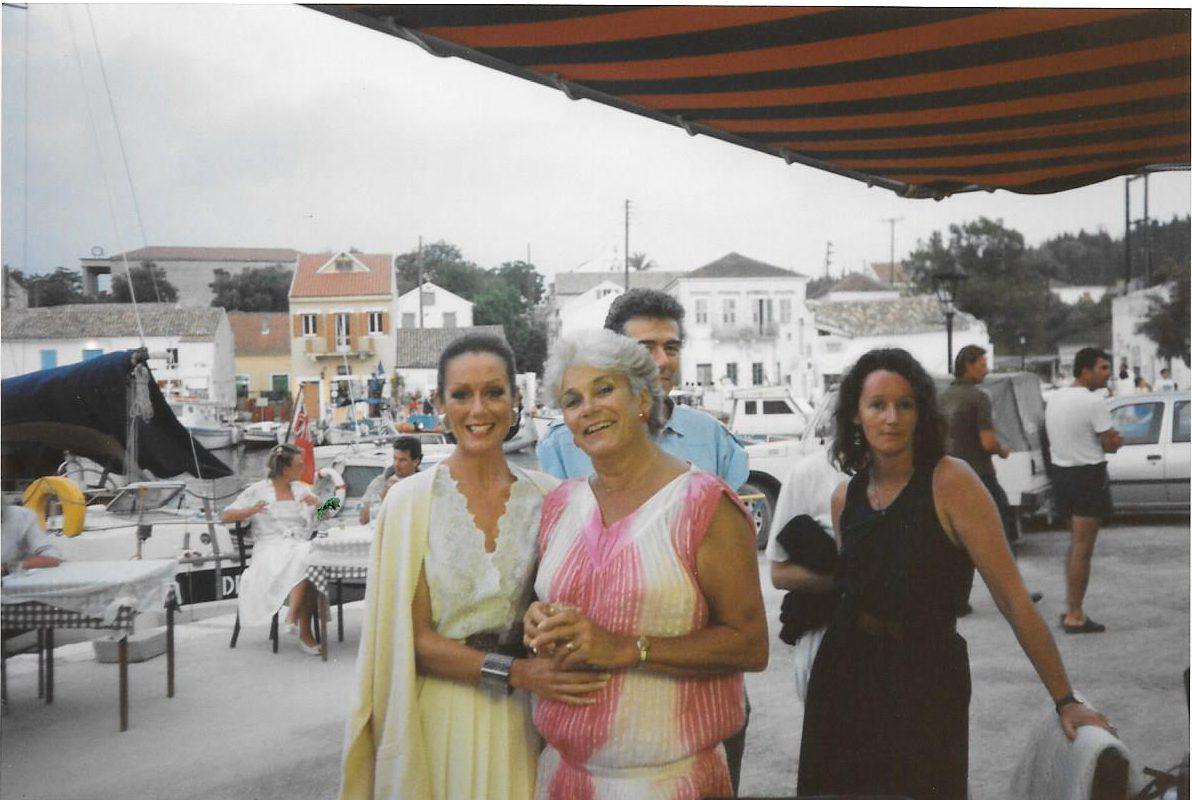 Fiscardo waterfront Lorraine Chase